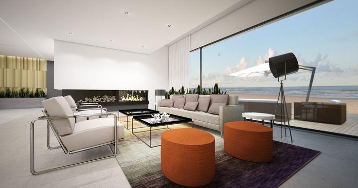 INTERIOR DESIGN OF HOTEL / Hotel Apart by EC-5 Architects / Pomorze Poland