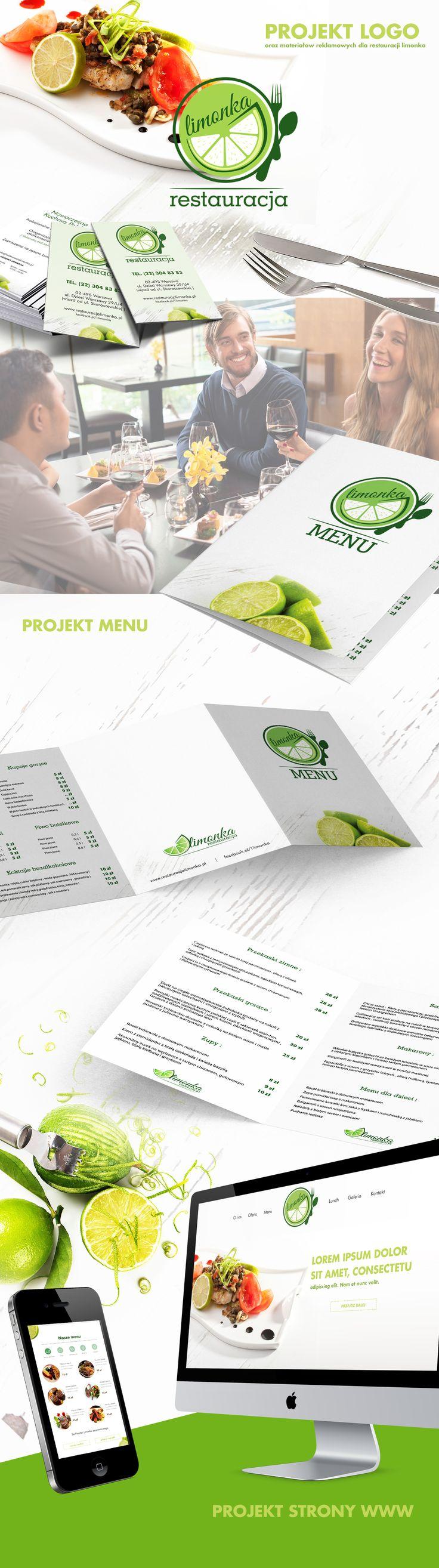 """Popatrz na ten projekt w @Behance: """"Projekt dla restauracji limonka"""" https://www.behance.net/gallery/35048081/Projekt-dla-restauracji-limonka"""