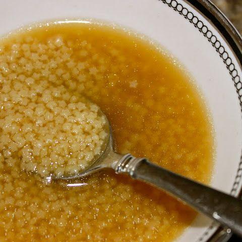 Pastina Chicken Broth Soup (Pastina en Brodo di Pollo)