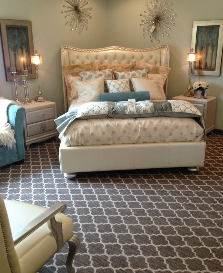 Taza Carpet In This Bedroom. Visit The Landers Premier Flooring Showroom In  Austin, TX