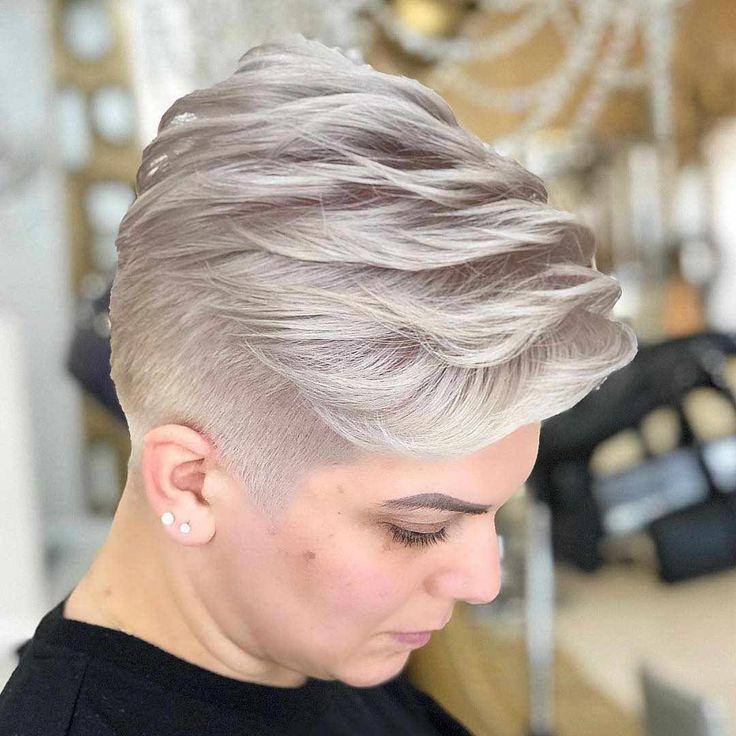 35+ Neueste Kurzhaarfrisuren für Frauen 2019 - #Bobhair #Hair #Haircuts #Frisuren #Frisuren