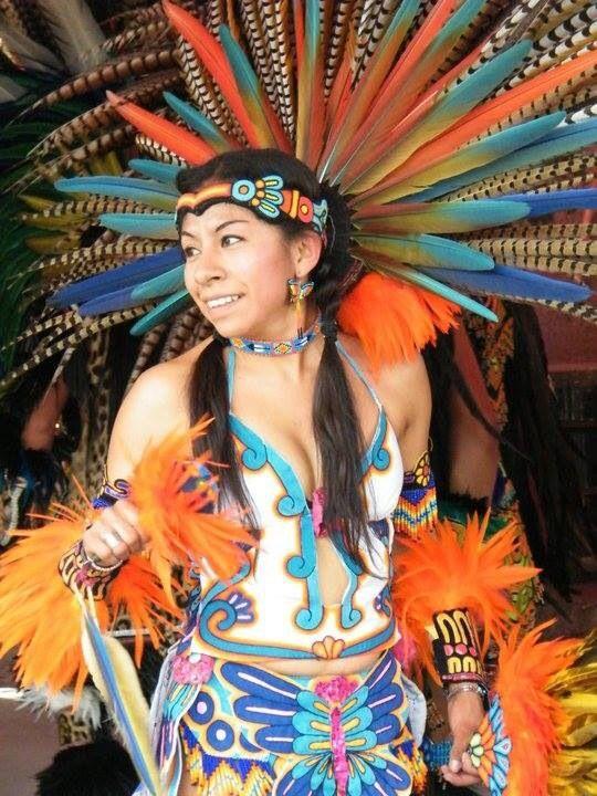 D D Ce A Df E D Af E on Aztec Indian Dancers