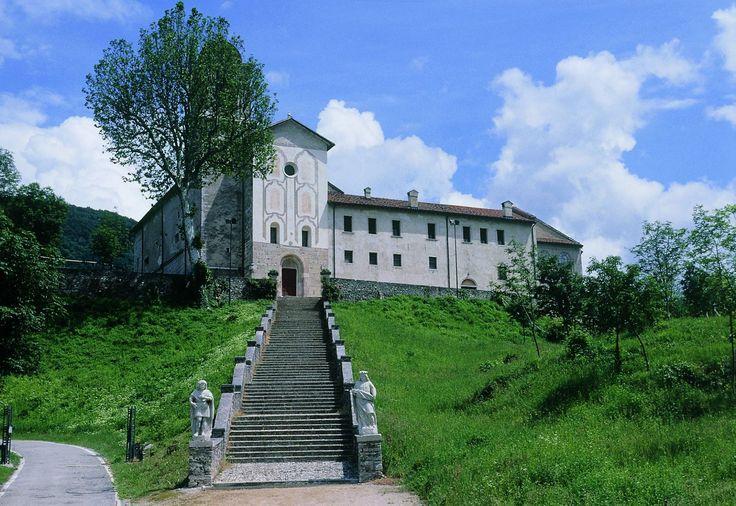 Basilica Santuario dei Ss. Vittore e Corona Feltre Belluno Dolomiti Veneto Italia