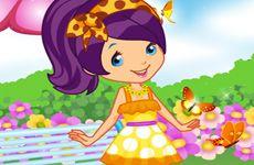 Juegos de Fresita.com - Juego: Creador de Muñecas Strawberry Gratis Online - Rosita Fresita Frutillita Tarta de Fresa