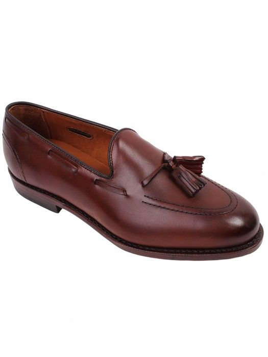 Allen Edmonds Acheson Tassel Loafer in Dark Chili Burnished