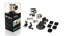 GoPro's HD Hero 2 is a great camera if you are into any kind of extreme sports, or just a fan of video documenting your hobbies, life, etc.