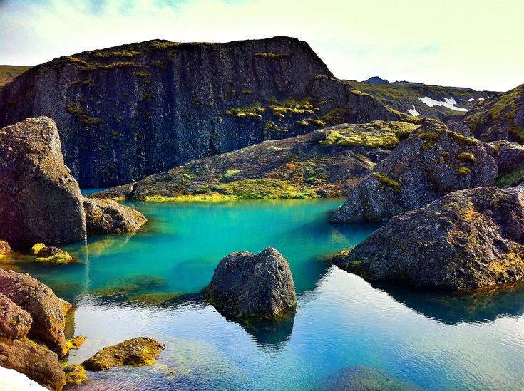 20 of Iceland's hidden gems. Pictured: Stórurð in East Iceland