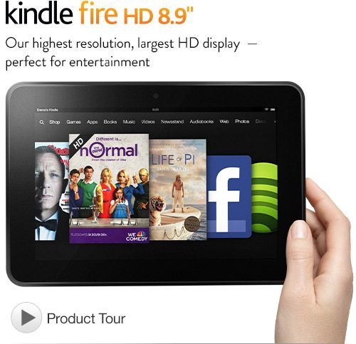 "Kindle Fire HD 8.9"" 32GB Giveaway - Sweet N Sour Deals"