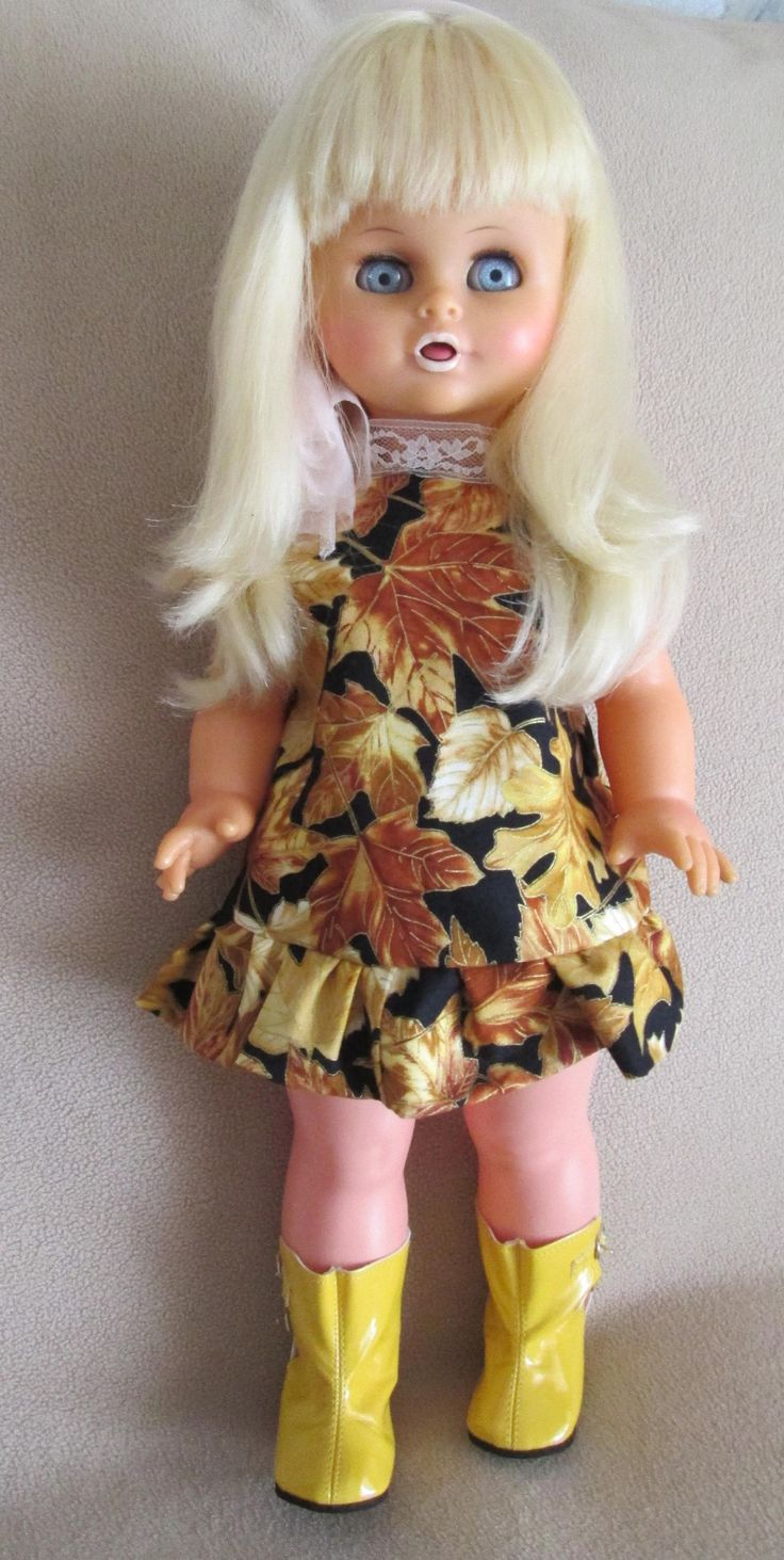 Belinda LiliLedy talking and singing doll from the 70's.