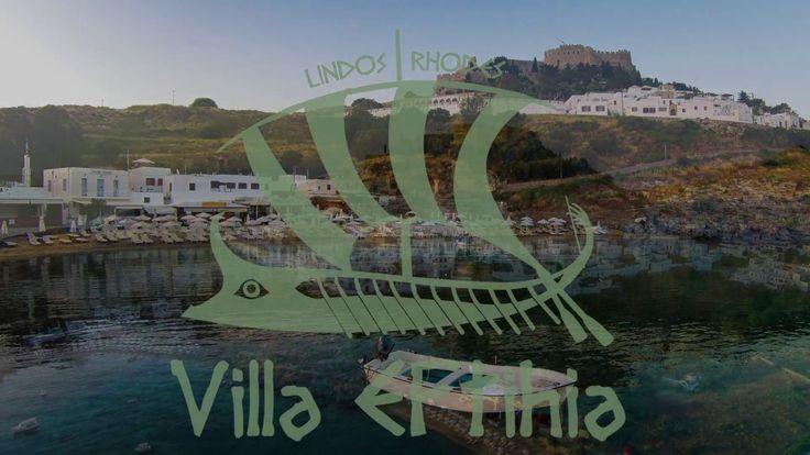 Luxury Villa Eftihia in the heart of Lindos