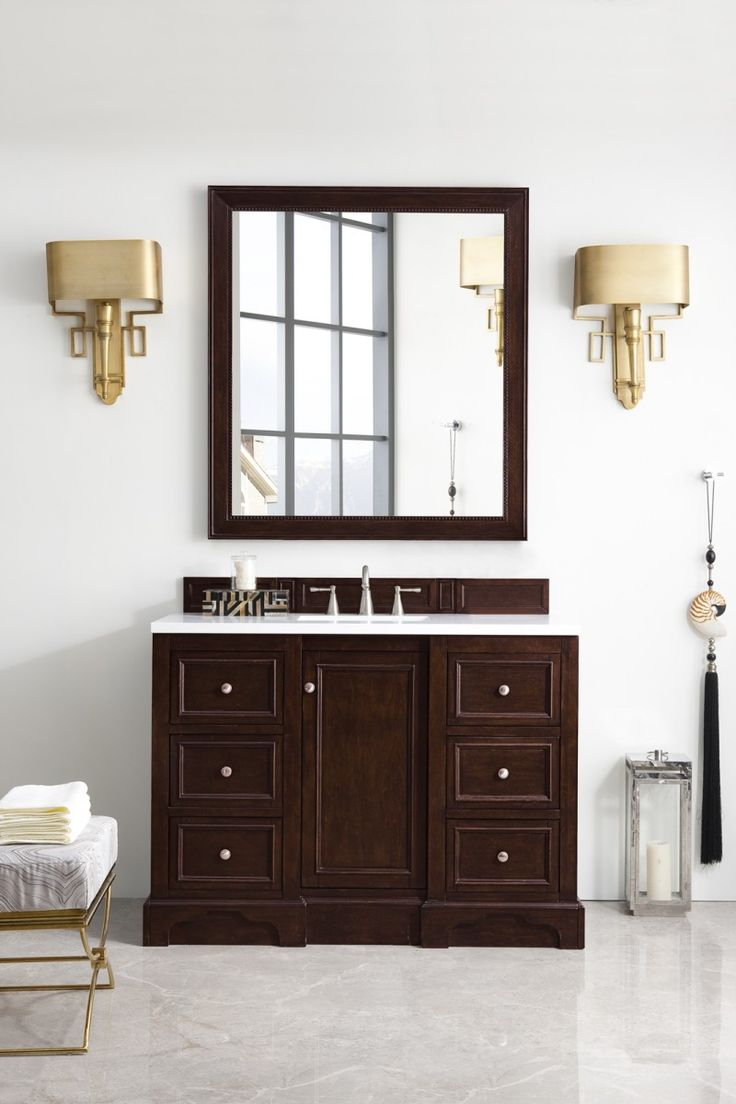 mirror with bathroom brown whitebackground fresca single s allier vanity sink wenge modern