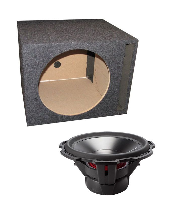 Rockford Fosgate P3D4-15 15-Inch 1200 Watt Dual 4-Ohm Car Audio Subwoofer with Vented Subwoofer Box P3D4-15   QSBASS15,    #Rockford Fosgate 15-Inch Subwoofers