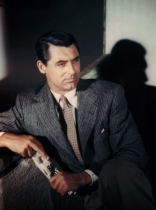 Cary Grant. I love his movies. He was so handsome, yet not above taking roles that made him look silly. He was so funny in Arsenic and Old Lace.