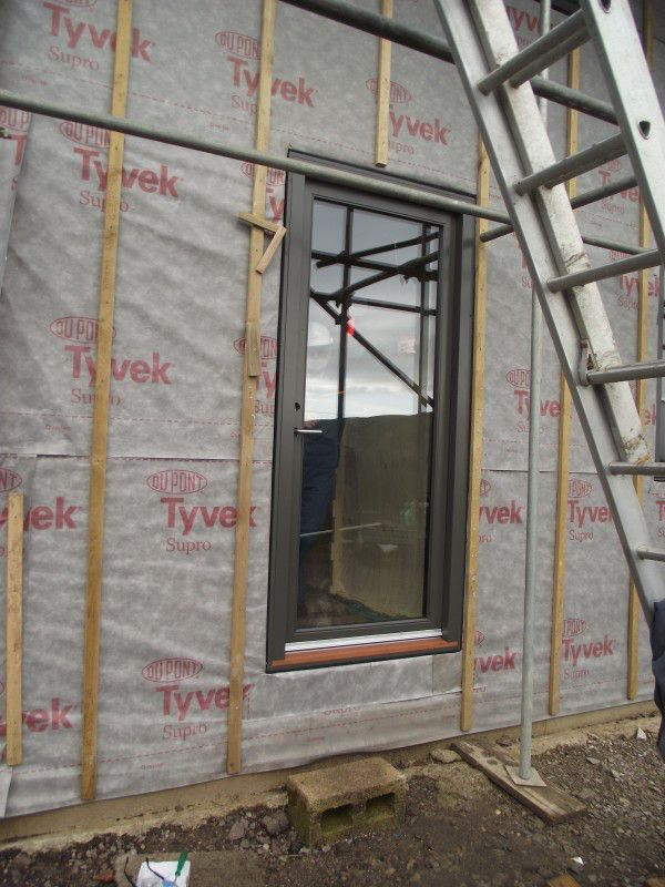 WikiHouseUK // 2015 // Midlands // First Wiki Farmhouse | The world's first Wikihouse home |  window