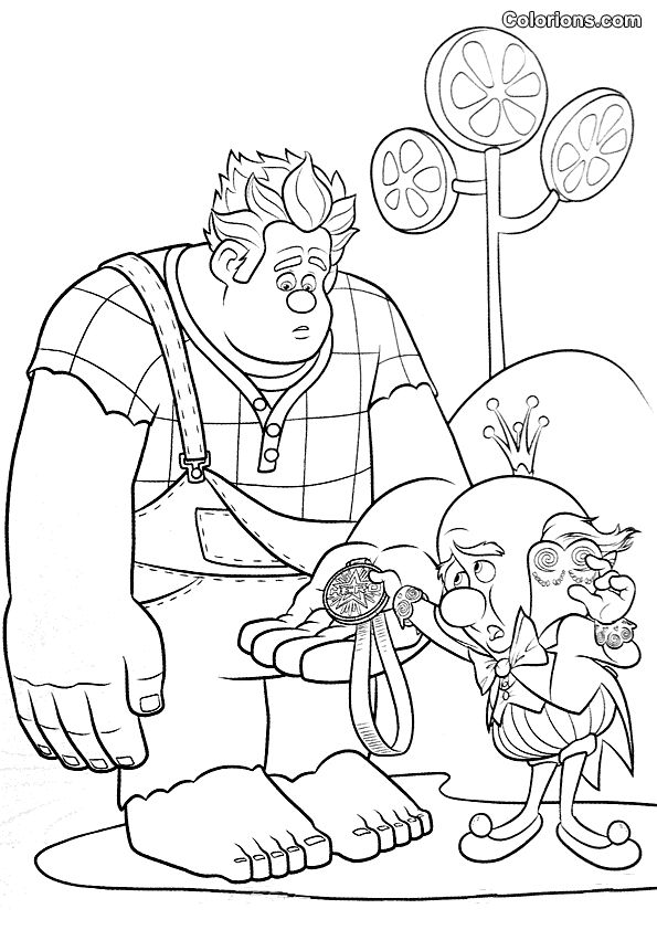 sugar rush coloring pages - photo#21