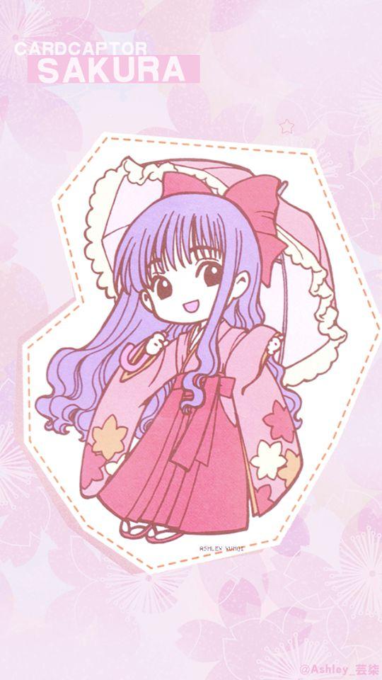 Chibi Tomoyo Daidouji (大道寺知世) | Cardcaptor Sakura (カードキャプターさくら), CCS, Cardcaptors, Card Captor Sakura | CLAMP