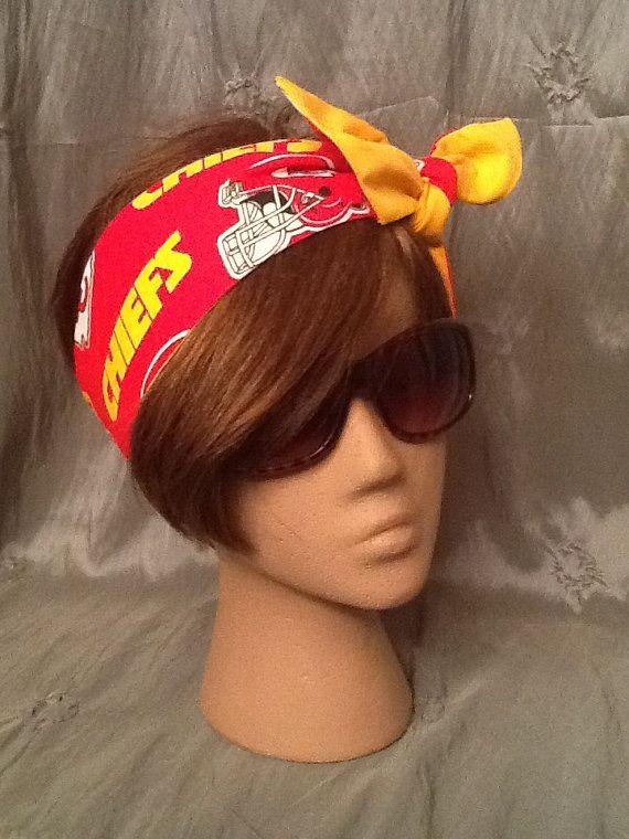 Go Chiefs  Kansas City Chiefs   Rockabilly by karinaallendraeger, $12.00
