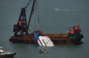 Hoy, aproximadamente, 38 personas murieron y cerca de un centenar resultaron heridas en el choque entre dos barcos de pasajeros en Hong Kong