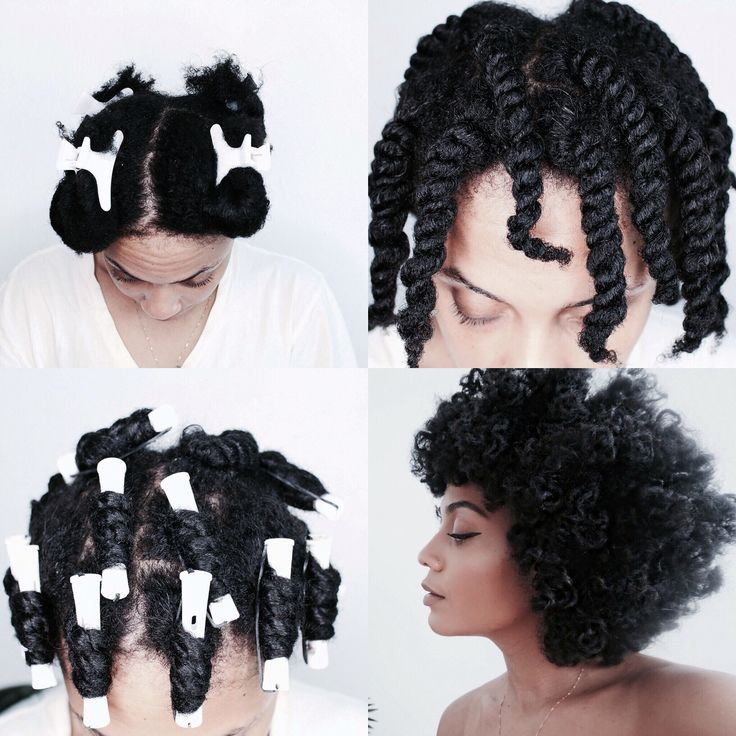 Twist & curl, natural hair, curly fro