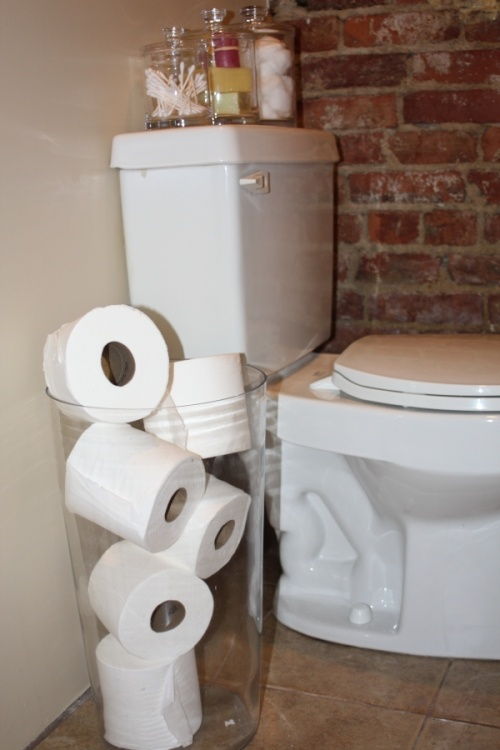 46 Best Toilet Paper Storage Images On Pinterest