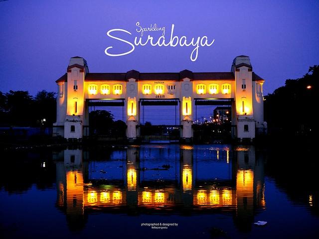 Pintu Air Jagir, Surabaya
