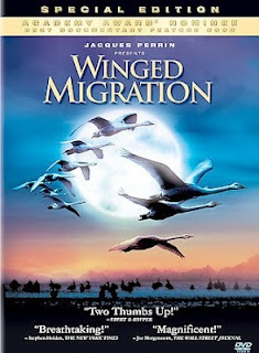 Winged Migration - especially love the soundtrack/music for this film