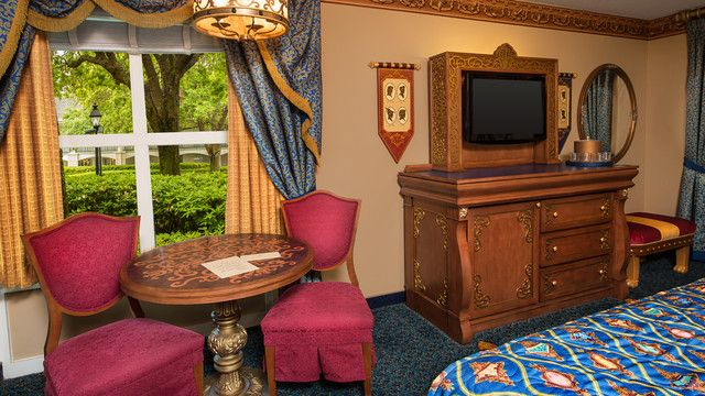 Royal Guest Room With Garden View Riverside Disney Resorts Pinterest Gardens Flats And Tvs