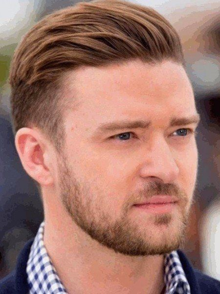 Tapered Haircut And Back Slicked Hairstyle Long Taper Haircut Men