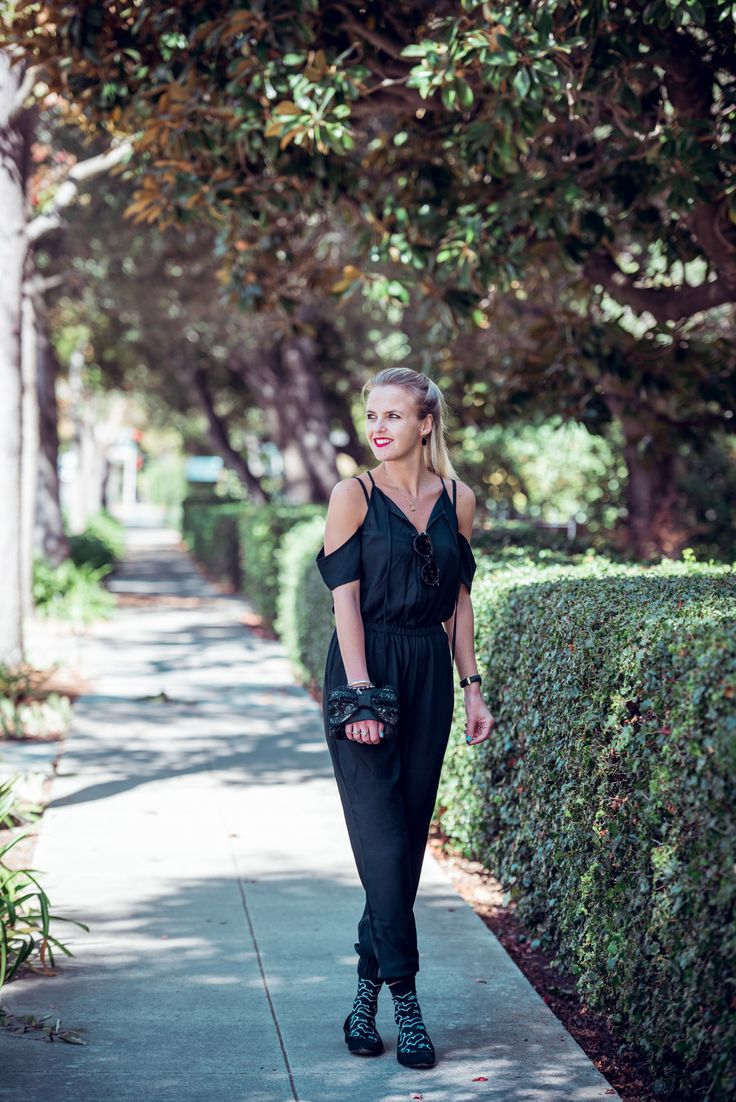 The perfect jumpsuit for fall!