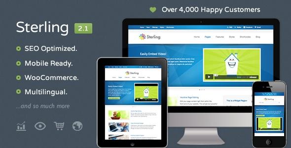 Sterling - Responsive Wordpress Theme - ThemeForest Item for Sale
