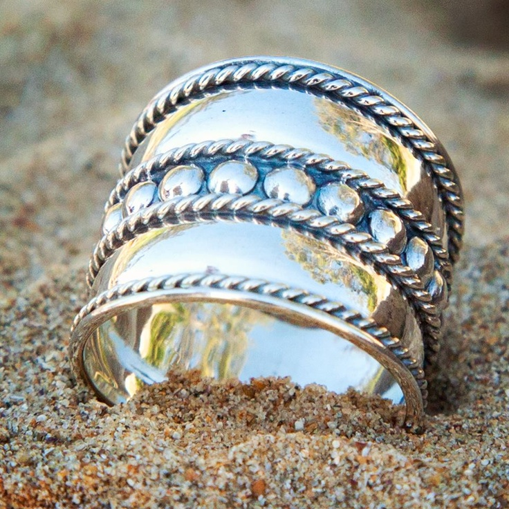 A fab Bali inspired ring.