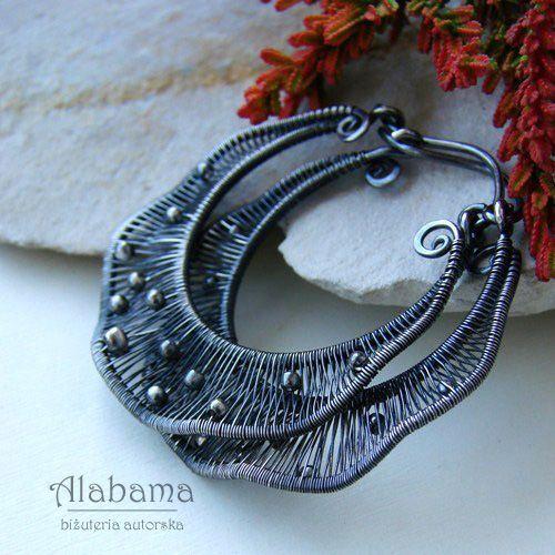 Falbanki w kropki / Alabama / Biżuteria / Kolczyki