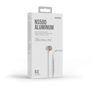 Nocs - High End Headphones - Airplay Speakers - NS500 Aluminum