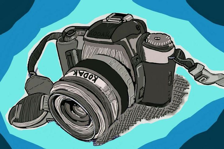 My camera drawing