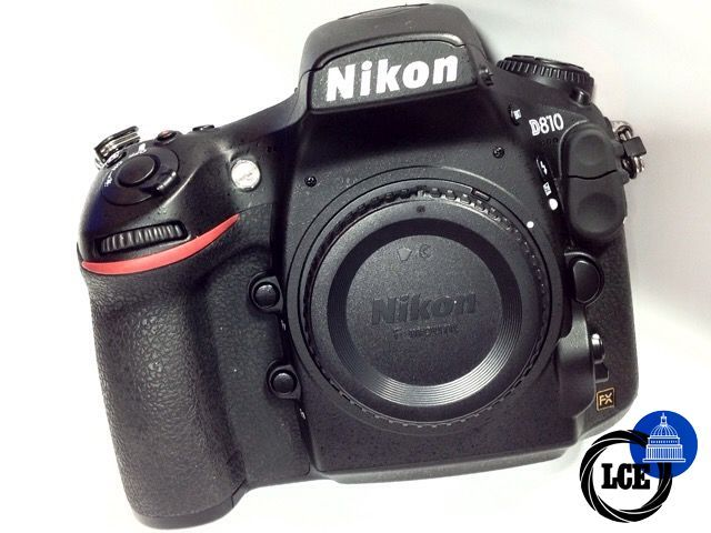 Nikon D810 Body *23K Shutter count
