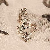 Corea Moda Cuatro Pequeño anillo de la flor d... – CLP $ 600