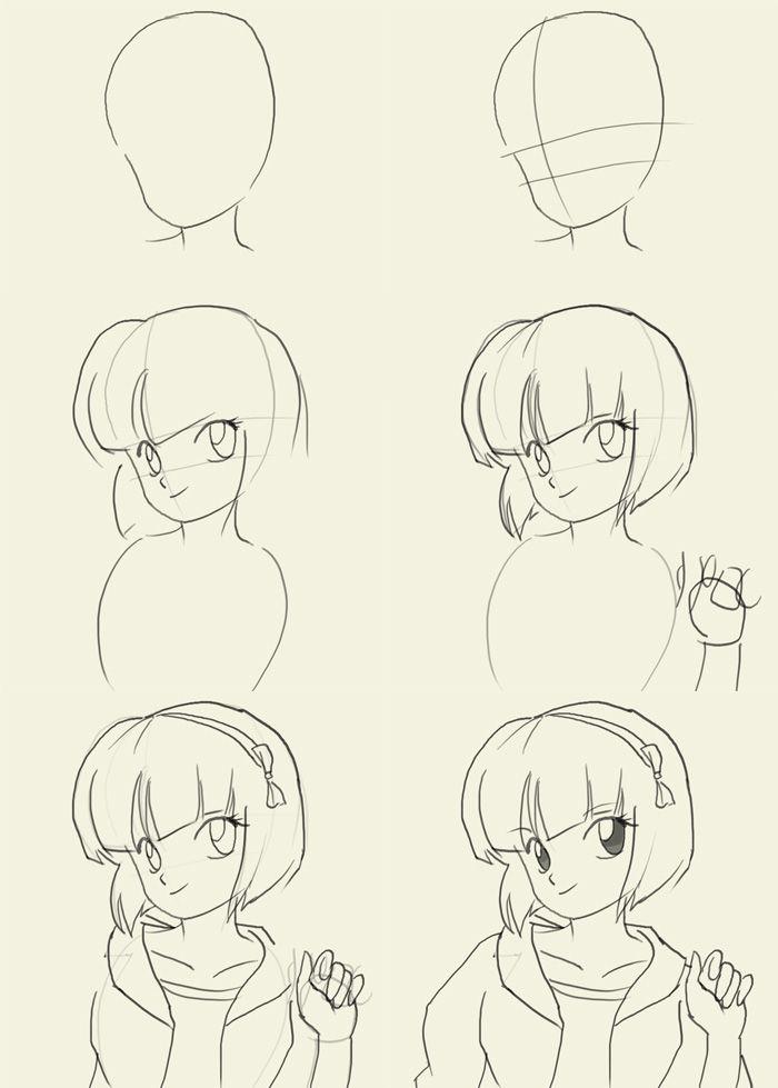 How to draw Manga Nabiki Tendo