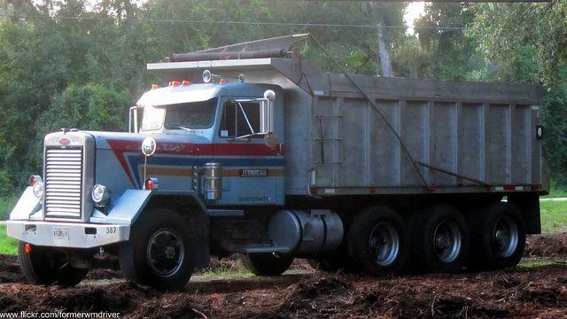 Classic Peterbilt Dump Truck |
