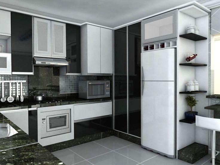 armário do chão ao teto #paneleiro modernos-móveis-planejados-para-cozinha.jpg (imagem JPEG, 1200 × 900 pixels) - Redimensionada (70%)