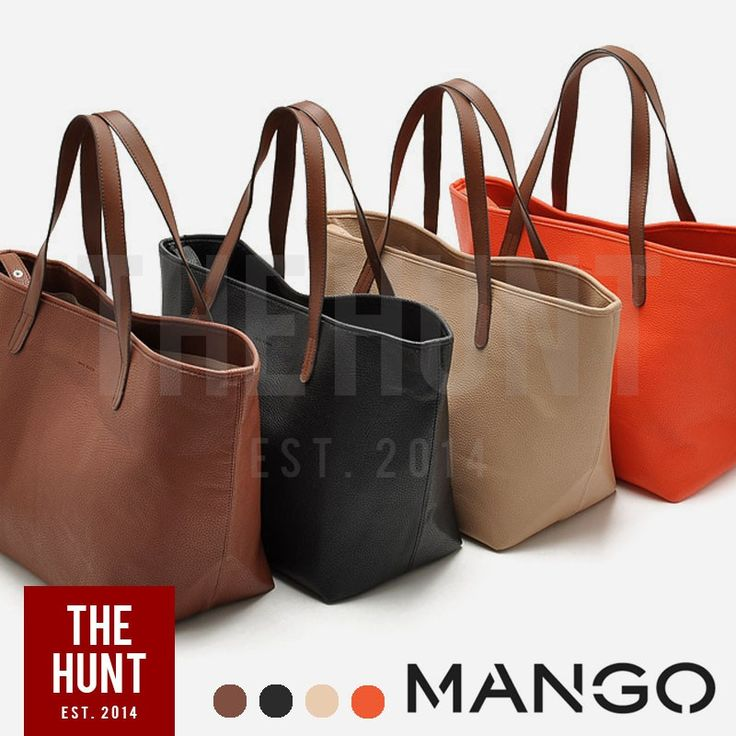 Check out MNG MANGO Shoulder Shopper Tote - Pre-order at 65% off! $23.00 only. Get it on Shopee now! https://shopee.com.my/thehunt.my/85477164 #ShopeeMY