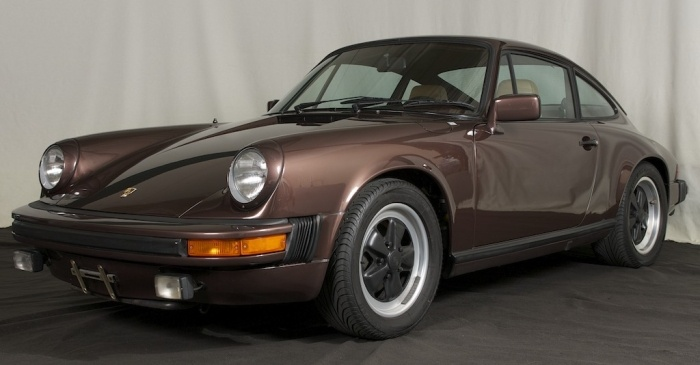 1981 Porsche 911SC - Rosewood Metallic with Tan
