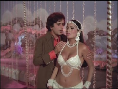 With Zeenat Aman in Satyam,Shivam,Sundaram.