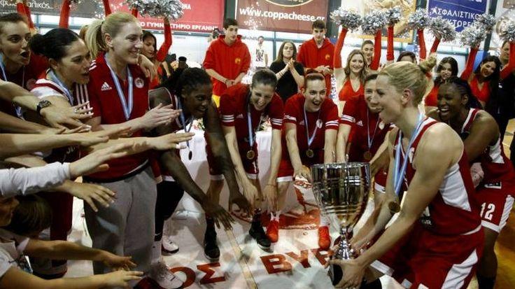 Α1 μπάσκετ γυναικών: 2ο συνεχόμενο πρωτάθλημα για τον Ολυμπιακό. 29/04/2017. (Αθηναϊκός-Ολυμπιακός 58-69).
