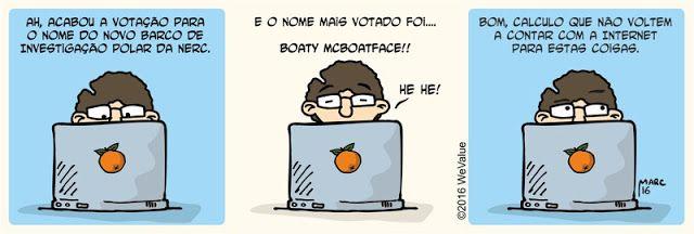 BD Ciência: Boaty McBoatface
