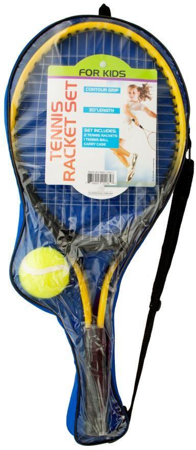 Kids Tennis Racket Set with Ball - 1 Units