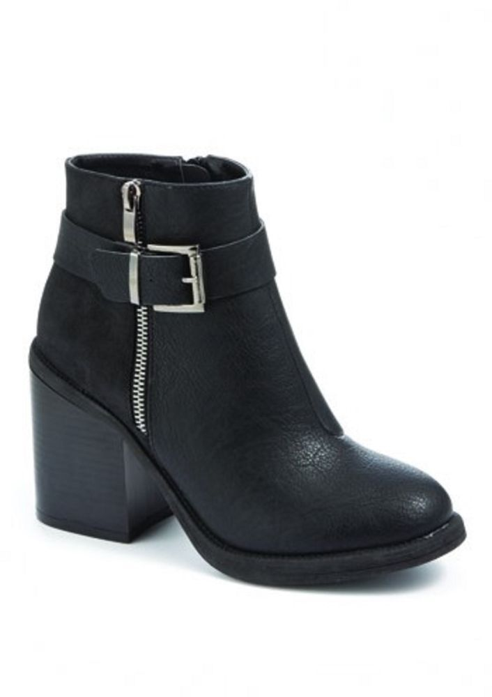 Womens Ladies Black High Block Heel Shoes Ankle Boots Size UK 3,4,5,6,7,8 New  Click On Link To Visit My Ebay Shop http://stores.ebay.co.uk/all-about-feet  Useful Info:  - Standard Size - Standard Fit - Unbranded - Black In Colour - Heel Height: 3.7 Inches - Inner Side Zip Fastening - Outer Side Zip Is Decorative Doesn't Go Up Or Down - Silver Buckle Detail - Synthetic Leather Upper #boots #shoes #black #ankleboots #blackboots #blockheel #zip #buckle #fauxleather #winter #fashion #footwear…