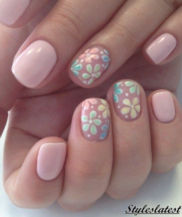 nice 66 Pretty Pink Nail Art Ideas For summer 2016 - styles latest