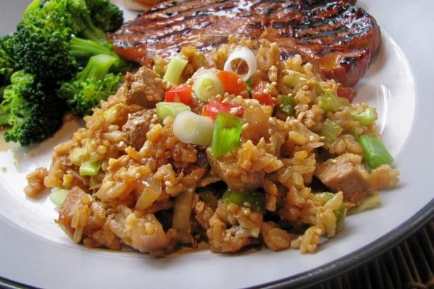Guy Fieri's BBQ Pork Fried Rice Recipe - Food.com - 423143