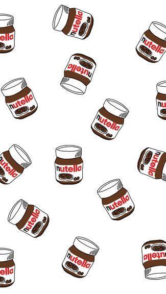 Nutella fundo tela de bloqueio tumblr