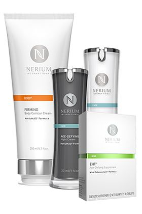Nerium Internatonal   Exclusive products with age-defying ingredients that you can't find anywhere else.